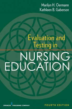 Evaluation and Testing in Nursing Education PDF