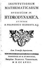 Institutiones mathematicae: Hydrodynamica, Volume 4