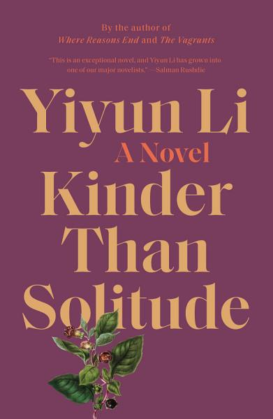 Download Kinder Than Solitude Book