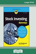 Stock Investing For Dummies  5th Edition  16pt Large Print Edition