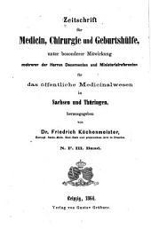 Zeitschrift für medicin, chirurgie und geburtshülfe ...: Band 3