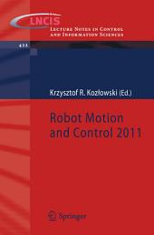 Robot Motion and Control 2011