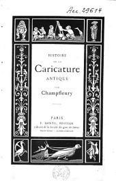 Histoire de la caricature: Volume1