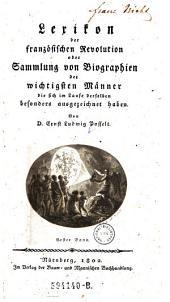 Lexikon der Franzosischen Revolution