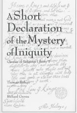 A Short Declaration of the Mystery of Iniquity  1611 1612  PDF
