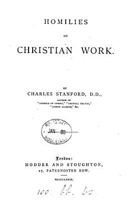 Homilies on Christian Work PDF