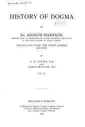 History of Dogma: Volume 4