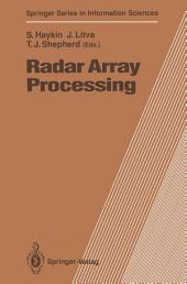 Radar Array Processing