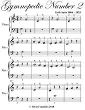 Gymnopedie Number 2 Beginner Piano Sheet Music