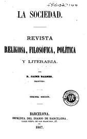La Sociedad: revista religiosa, filosófica, política y literaria