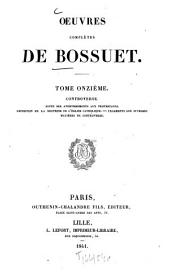 Oeuvres complètes: Volume11