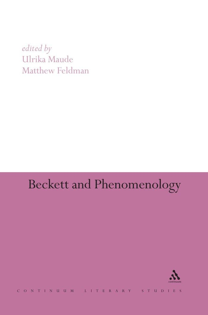 Beckett and Phenomenology