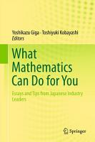 What Mathematics Can Do for You PDF