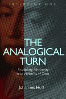 The Analogical Turn PDF