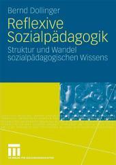 Reflexive Sozialpädagogik: Struktur und Wandel sozialpädagogischen Wissens