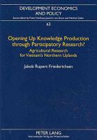 Opening Up Knowledge Production Through Participatory Research  PDF