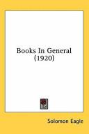 Books in General (1920)