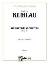 Six Divertissements, Opus 68: For Flute