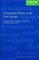 Citizenship Policies in the New Europe PDF