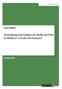 Darstellung und Analyse der Rolle der Frau in Moli  res  L   cole des femmes  PDF