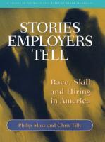 Stories Employers Tell PDF