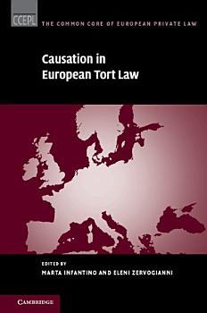 Causation in European Tort Law PDF