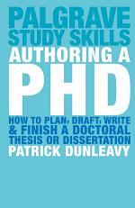 Authoring a PhD
