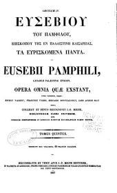 Patrologiæ cursus completus: Series Græca, Volume 23, Part 5