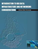 INTRODUCTION TO BIG DATA  INFRASTRUCTURE AND NETWORKING CONSIDERATIONS PDF