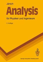 Analysis für Physiker und Ingenieure: Funktionentheorie, Differentialgleichungen, Spezielle Funktionen. Ein Lehrbuch für das zweite Studienjahr, Ausgabe 2