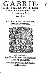 Observationes anatomicae