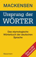 Ursprung der W  rter PDF