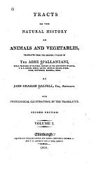 Tracts on the Natural History of Animals and Vegetables
