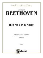 Piano Trio No. 7, Opus 97 in B-flat Major: For Violin, Cello and Piano