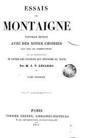 Essais de Montaigne