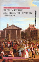 The Longman Companion to Britain in the Eighteenth Century  1688 1820 PDF