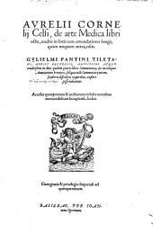 De arte Medica: libri octo