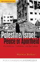 Palestine Israel  Peace Or Apartheid PDF