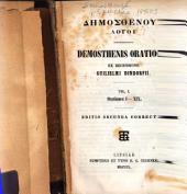Dēmosthenous Logoi: Orationes I-XIX