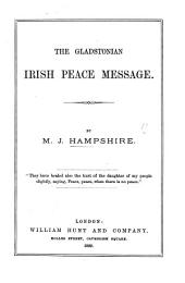 The Gladstonian Irish Peace Message