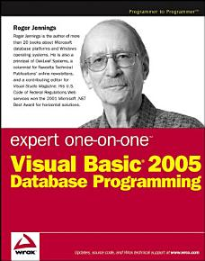 Expert One on One Visual Basic 2005 Database Programming PDF