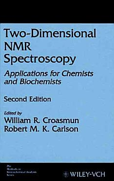 Two Dimensional NMR Spectroscopy PDF