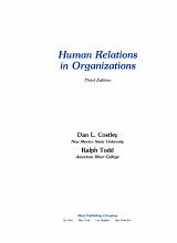 Human Relations in Organizations PDF