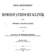 Hirschel's Zeitschrift für homöopathische Klinik: Bände 14-16