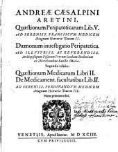 Peripateticae Quaestiones: libri V.