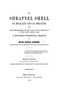 The Shrapnel Shell in England and in Belgium     A historico technical sketch PDF