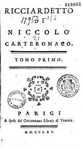 Ricciardetto di Nicolo Carteromaco