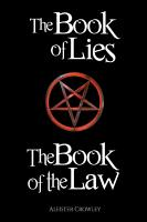 The Book of the Law and the Book of Lies PDF