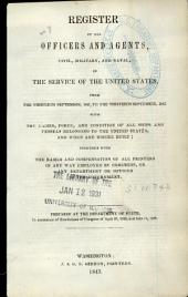 Official Register of the United States: Containing a List of Persons Occupying Administrative and Supervisory Positions in the Legislative, Executive and Judicial Branches of the Government, Including, Part 3
