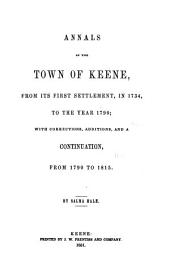Annals of the town of Keene ... to 1815